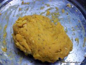 Besan Dough for Gatta