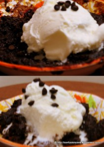 Eggless Quickfix Microwave Brownie