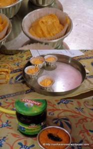 Eggless Orange Blueberry Muffin