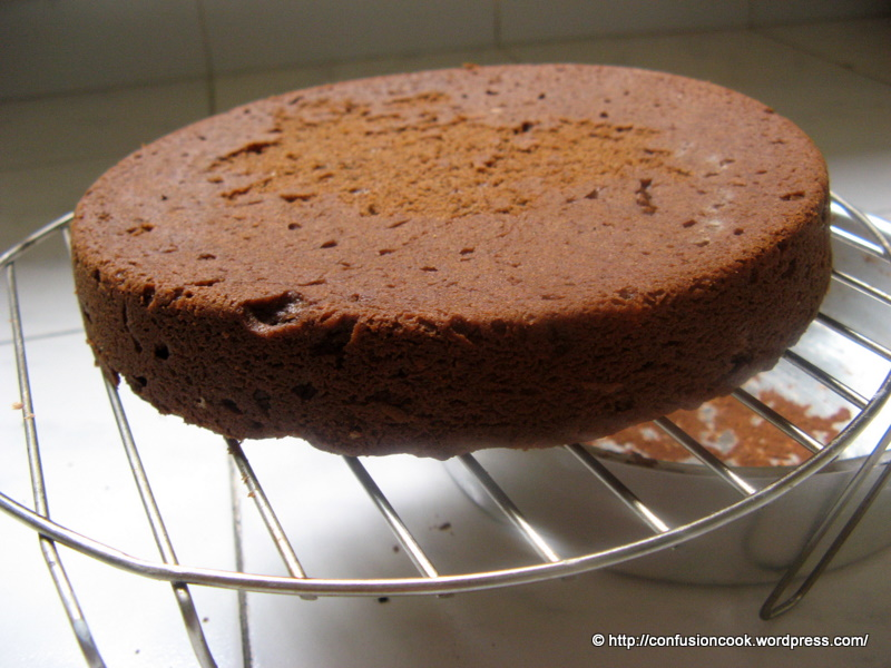 Eggless Chocolate Pound Cake Recipe