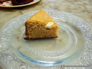 Kaaju Maawa Cake - A Slice
