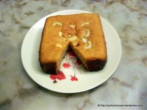 Kaaju Maawa Cake - Baked in Tandoor