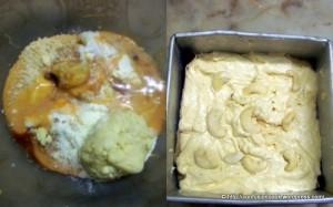 Kaaju Maawa Cake - Batter