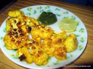 Marinated & Grilled Cauliflower