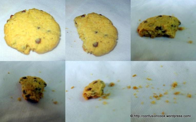 Cookie monster was here... chomp, chomp, chomp!!!