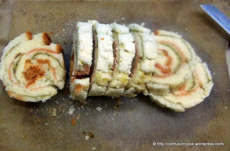Pin Wheel Sandwich - Sliced