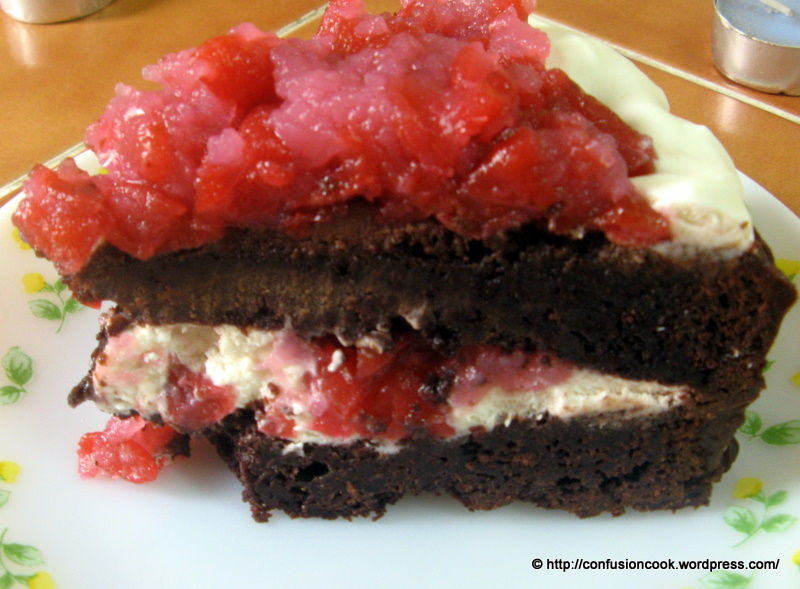 Eggless Black Forest Cake Recipe Microwave