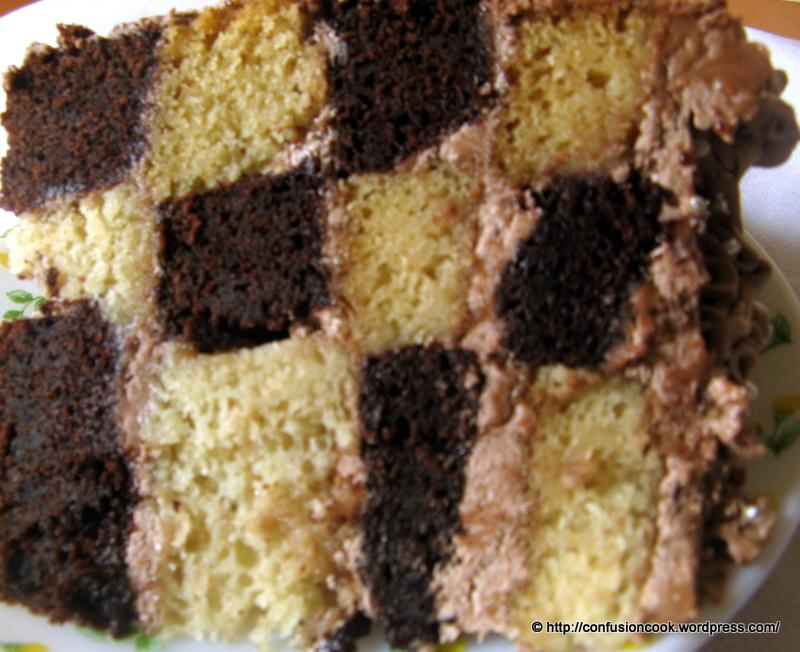 Checkered Cake Pan