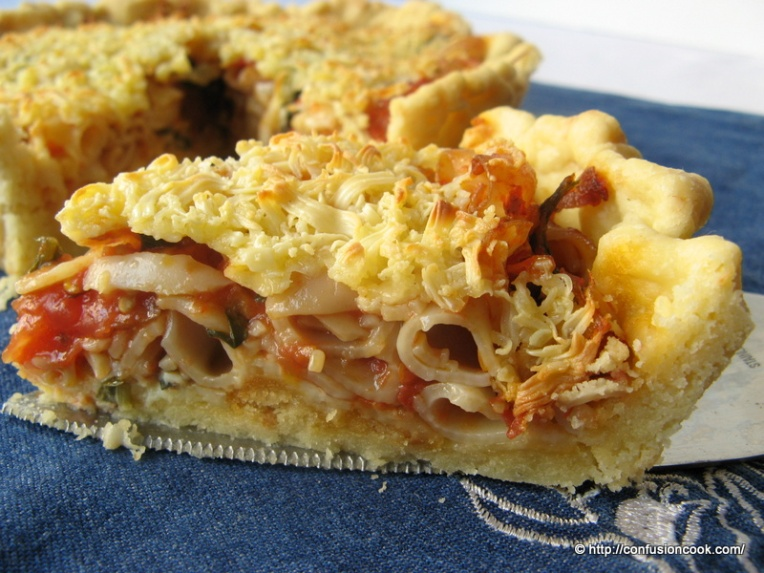 Macaroni Pasta Tart