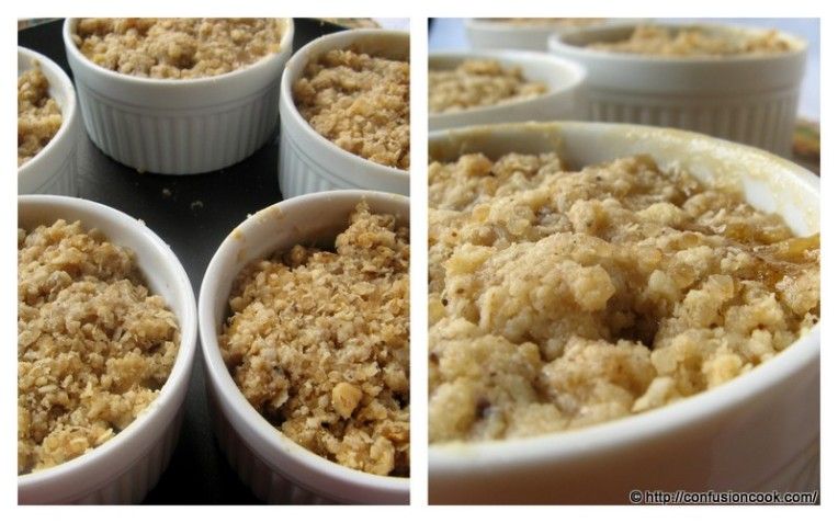 Apple Pear Crumble