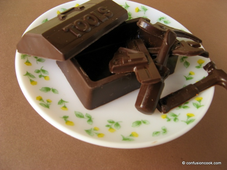 Molded Tool Chocolate