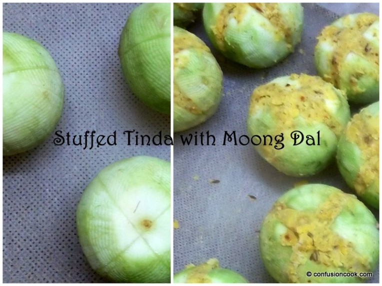 Stuffed Tinda/ Round Gourd